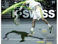 KSWISS POSTER | Court